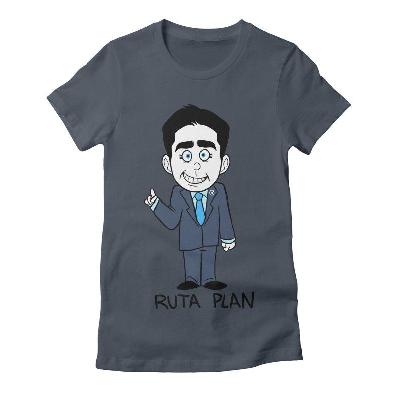 RUTA PLAN Women's T-Shirt by Tripleta Studio Shop