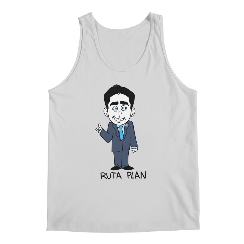 RUTA PLAN Men's Regular Tank by Tripleta Gourmet Clothing