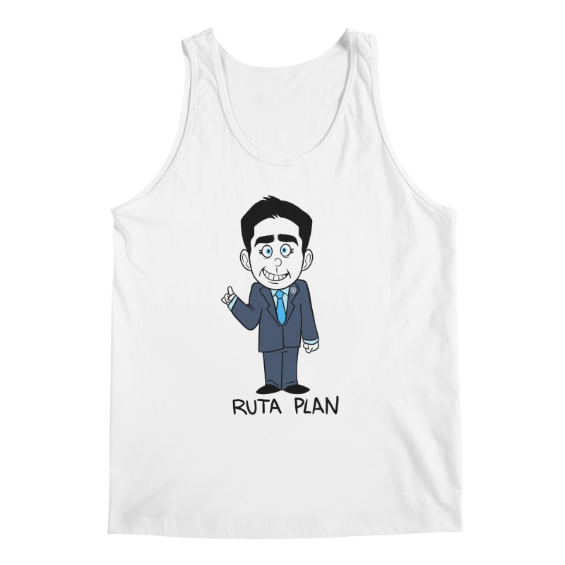 RUTA PLAN Men's Regular Tank by Tripleta Studio Shop
