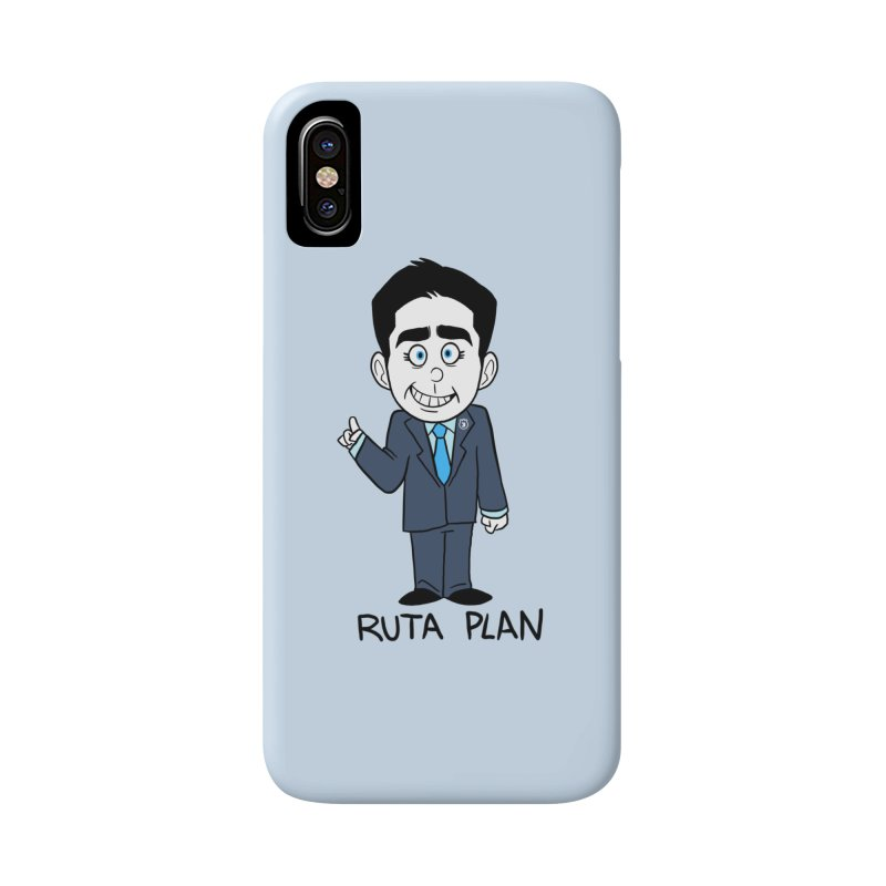 RUTA PLAN Accessories Phone Case by Tripleta Gourmet Clothing