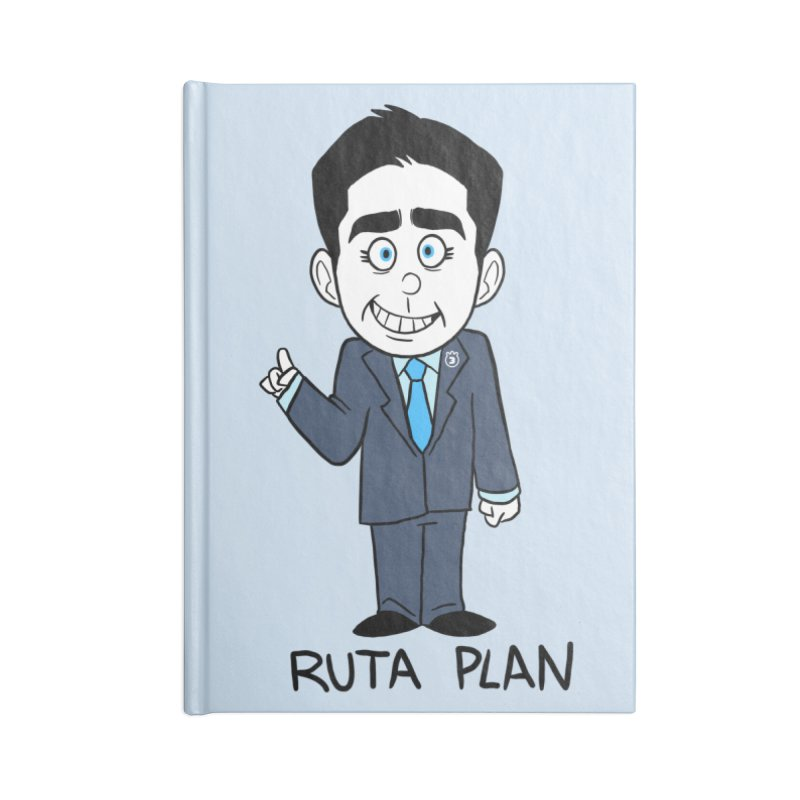 RUTA PLAN Accessories Lined Journal Notebook by Tripleta Studio Shop