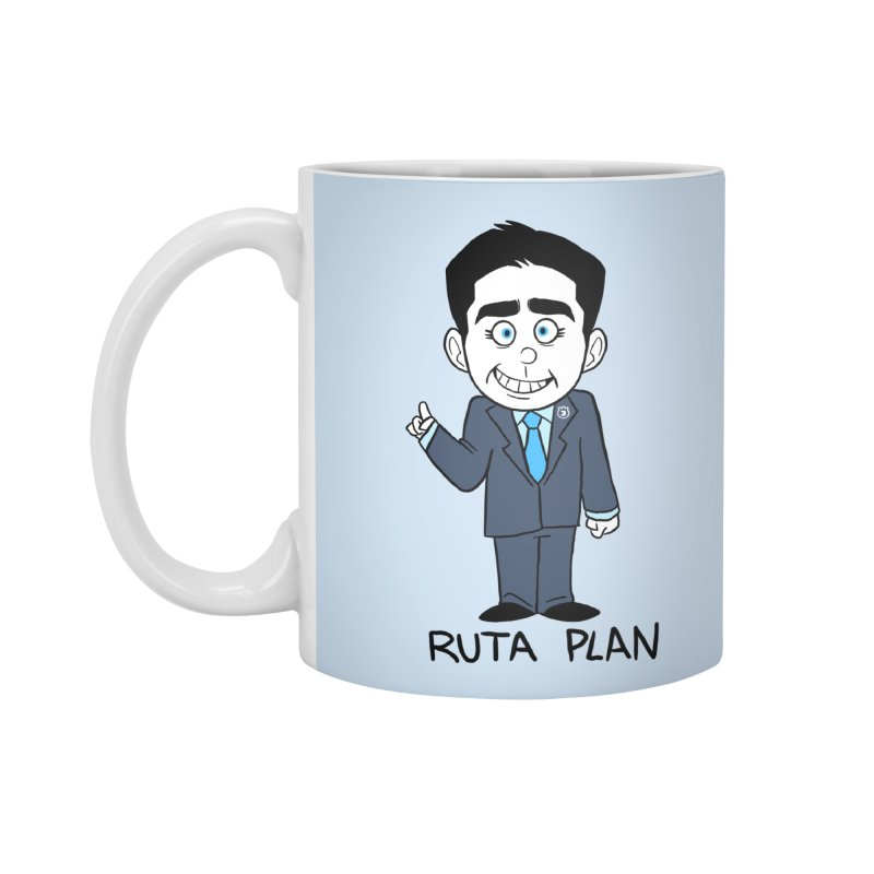 RUTA PLAN Accessories Standard Mug by Tripleta Studio Shop