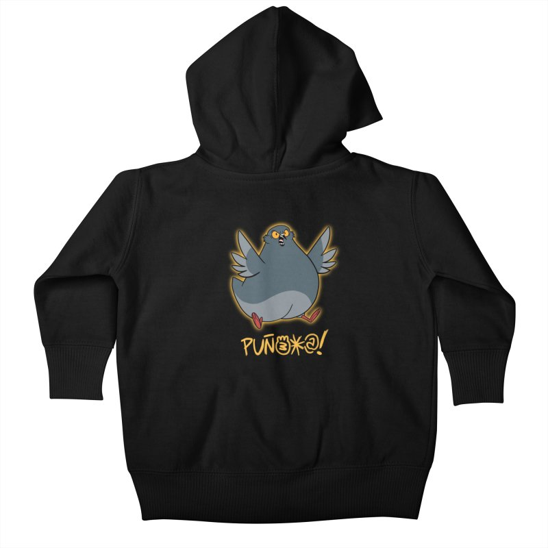 ENGOGONAMIENTO Kids Baby Zip-Up Hoody by Tripleta Gourmet Clothing