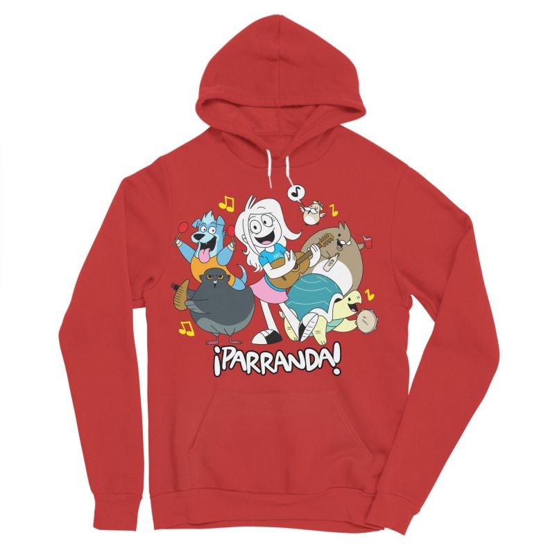 PARRANDA PALS Men's Sponge Fleece Pullover Hoody by Tripleta Gourmet Clothing