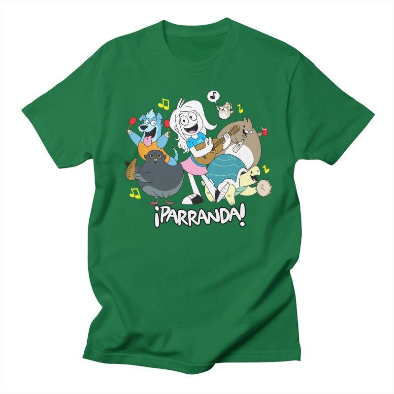 PARRANDA PALS in Men's Regular T-Shirt Kelly Green by Tripleta Gourmet Clothing