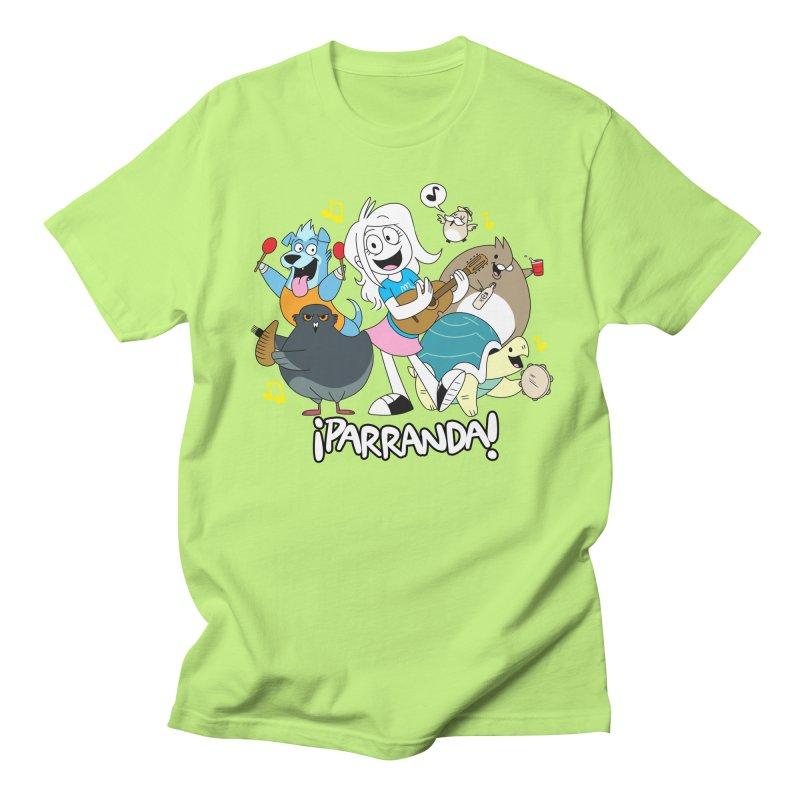 PARRANDA PALS Men's Regular T-Shirt by Tripleta Gourmet Clothing