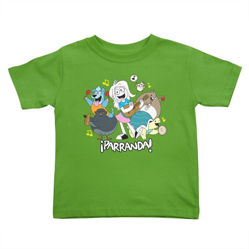 PARRANDA PALS Kids Toddler T-Shirt by Tripleta Gourmet Clothing