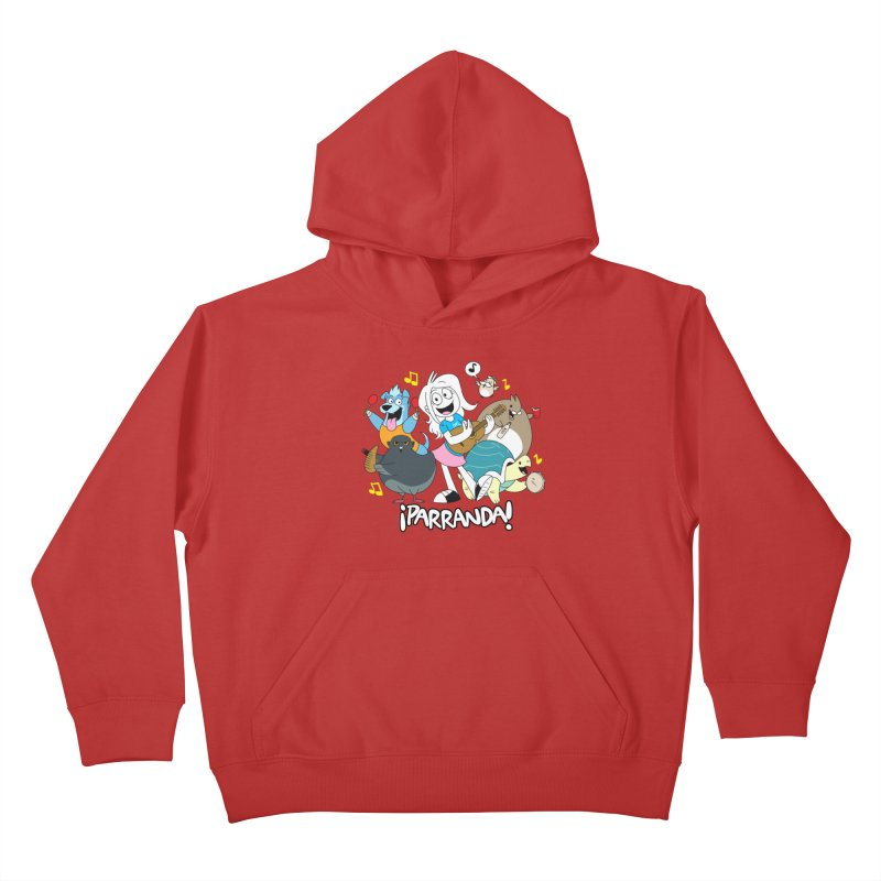 PARRANDA PALS Kids Pullover Hoody by Tripleta Gourmet Clothing