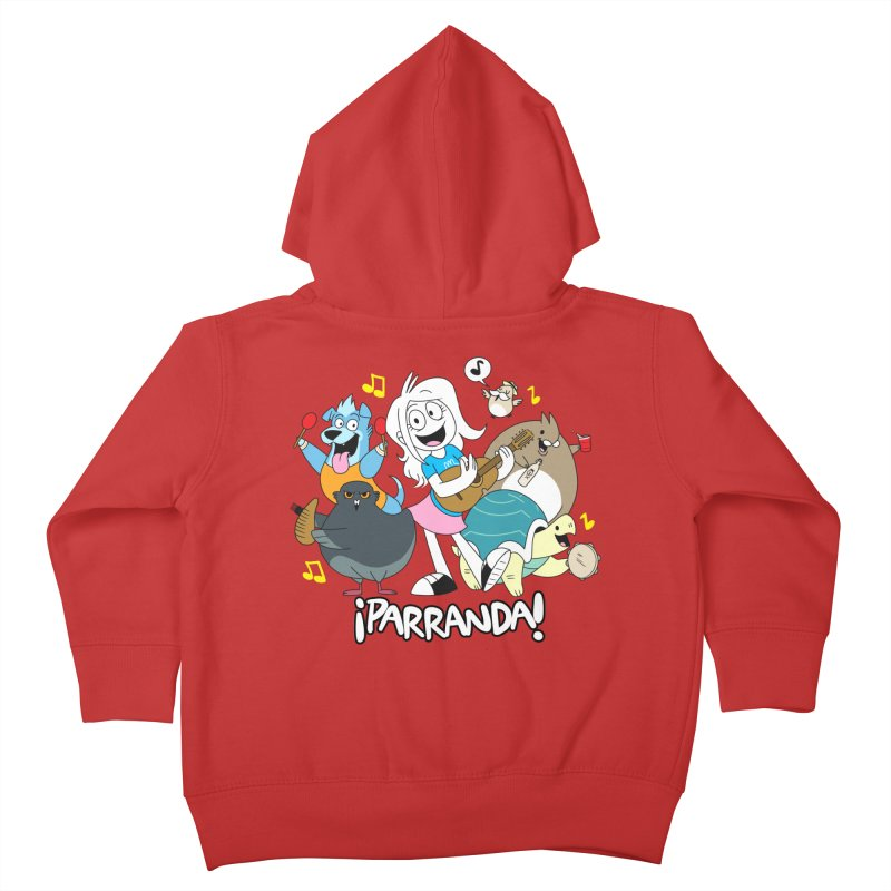 PARRANDA PALS Kids Toddler Zip-Up Hoody by Tripleta Gourmet Clothing