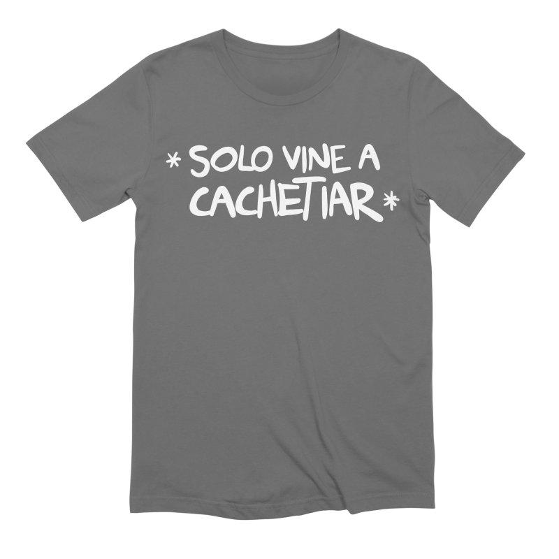CACHETE Men's T-Shirt by Tripleta Studio Shop