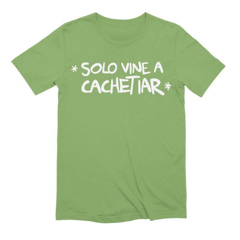 CACHETE Men's Extra Soft T-Shirt by Tripleta Studio Shop