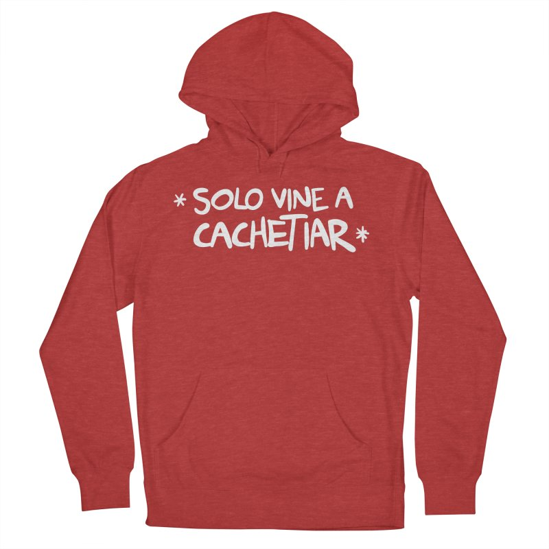 CACHETE Women's French Terry Pullover Hoody by Tripleta Studio Shop