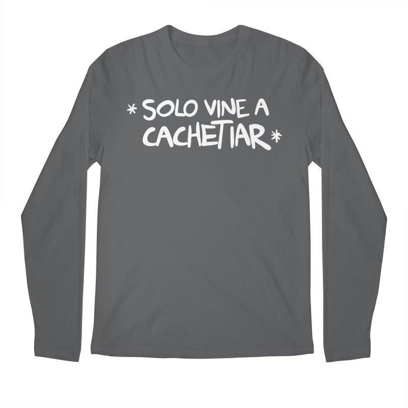 CACHETE Men's Regular Longsleeve T-Shirt by Tripleta Studio Shop