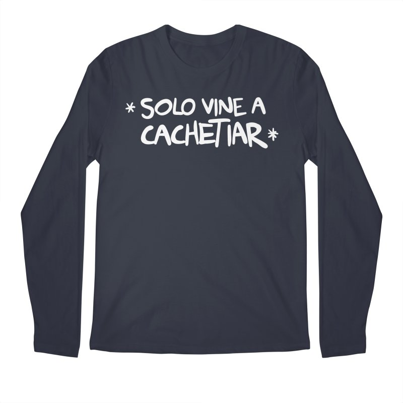 CACHETE Men's Regular Longsleeve T-Shirt by Tripleta Gourmet Clothing