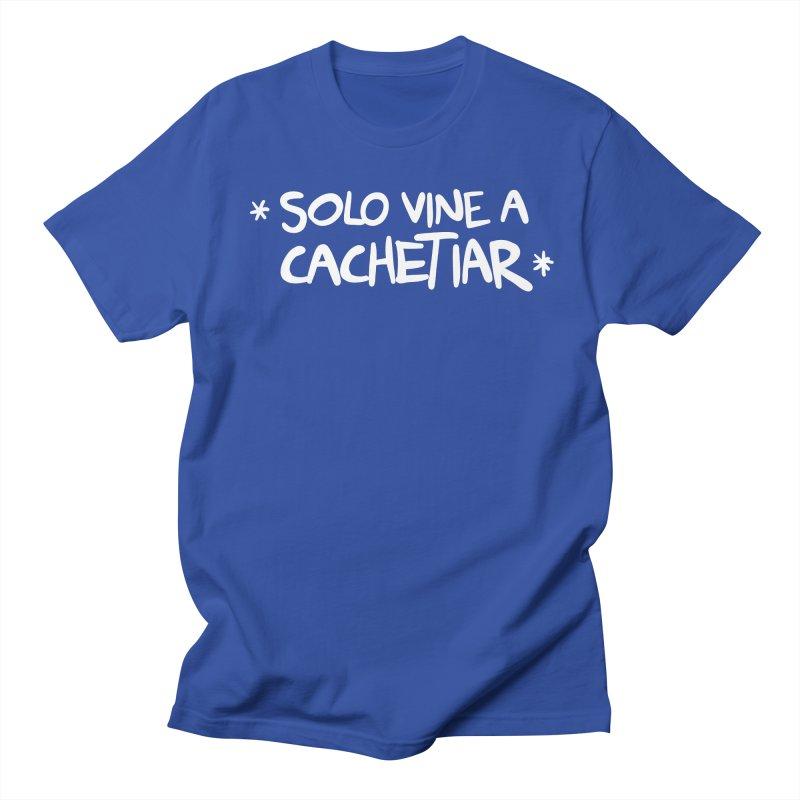 CACHETE Men's Regular T-Shirt by Tripleta Studio Shop