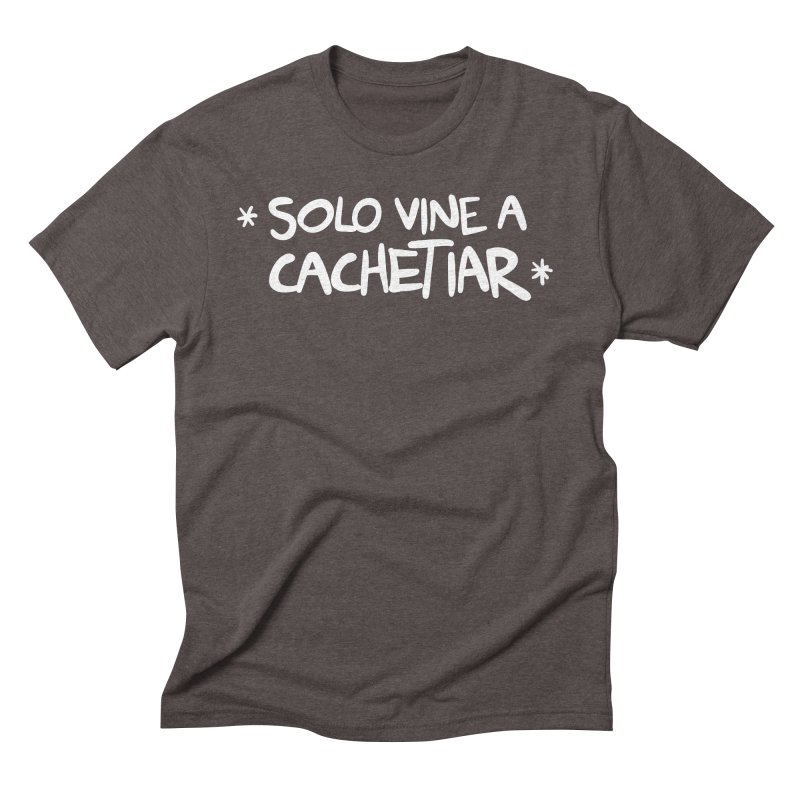 CACHETE Men's Triblend T-Shirt by Tripleta Gourmet Clothing