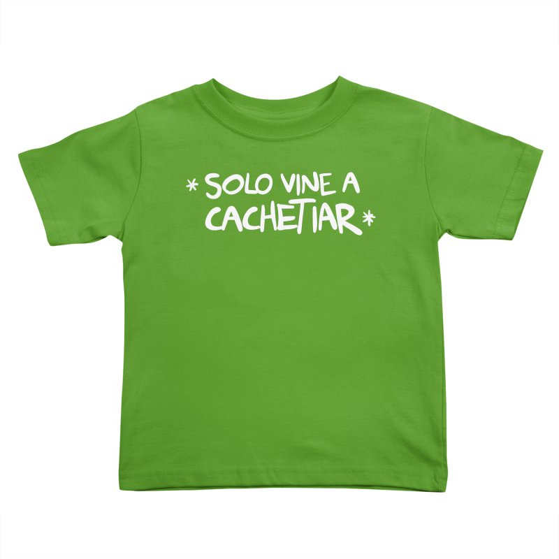CACHETE Kids Toddler T-Shirt by Tripleta Studio Shop