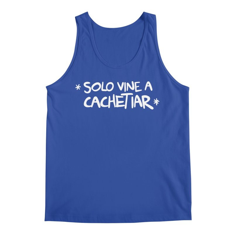 CACHETE Men's Regular Tank by Tripleta Studio Shop