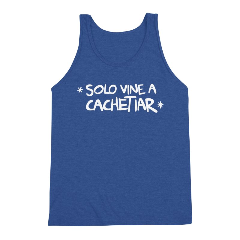 CACHETE Men's Tank by Tripleta Studio Shop