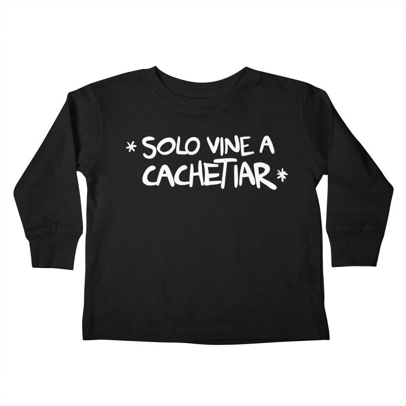 CACHETE Kids Toddler Longsleeve T-Shirt by Tripleta Studio Shop