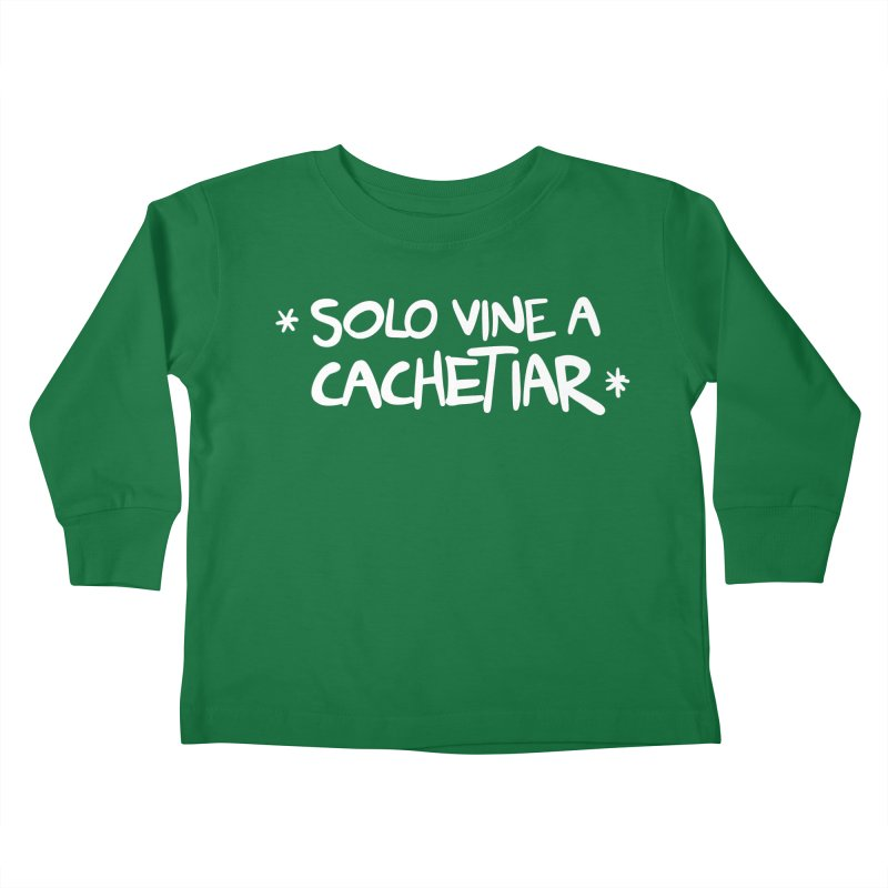 CACHETE Kids Toddler Longsleeve T-Shirt by Tripleta Studio Shop