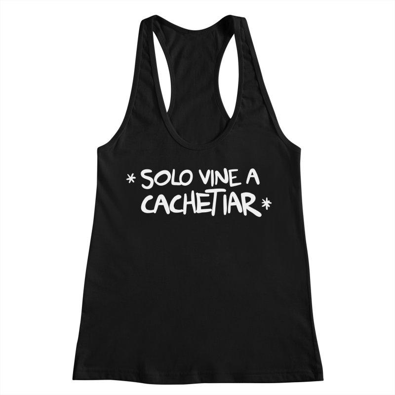 CACHETE Women's Racerback Tank by Tripleta Studio Shop