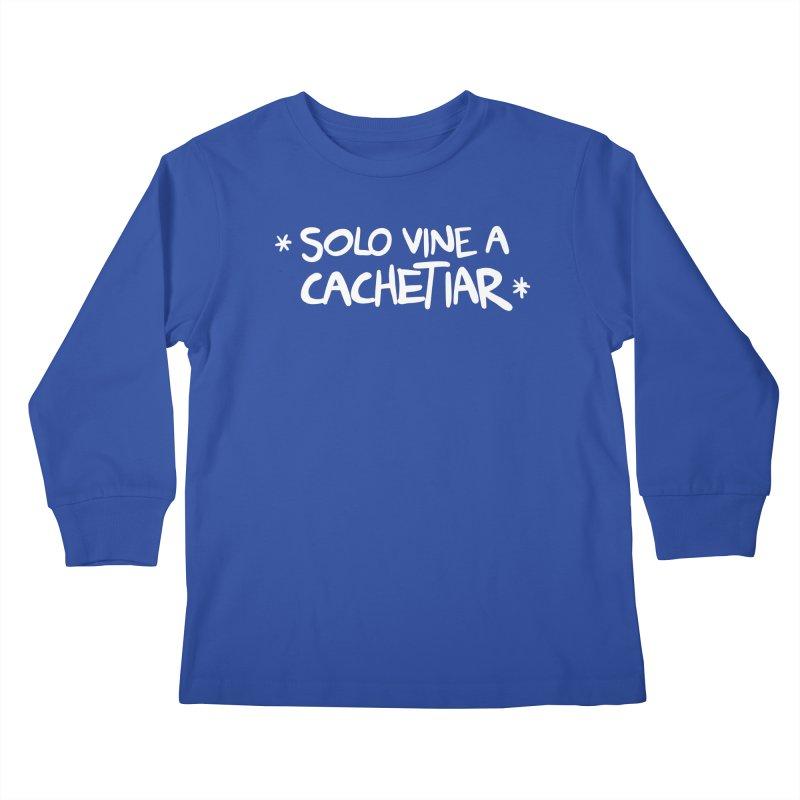 CACHETE Kids Longsleeve T-Shirt by Tripleta Studio Shop
