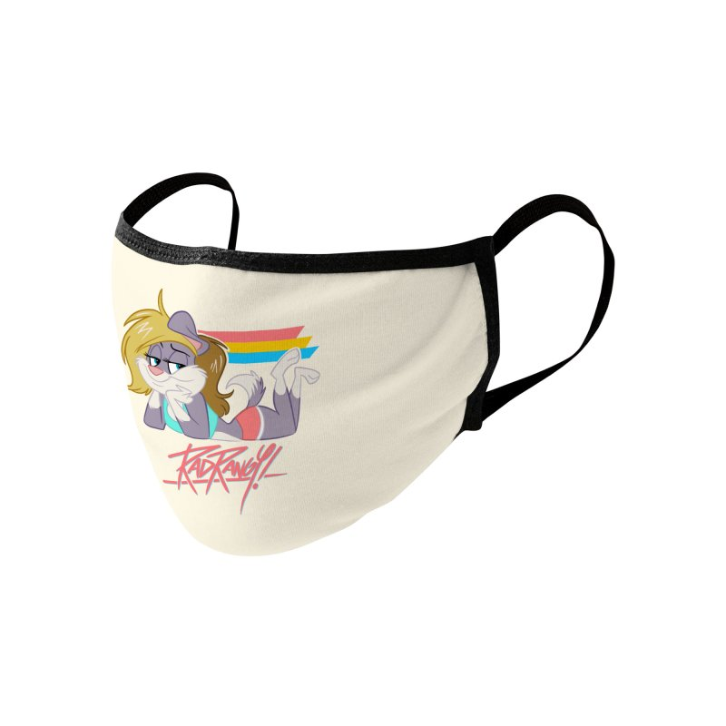 RAD ROUGEE TOON Accessories Face Mask by Tripleta Studio Shop