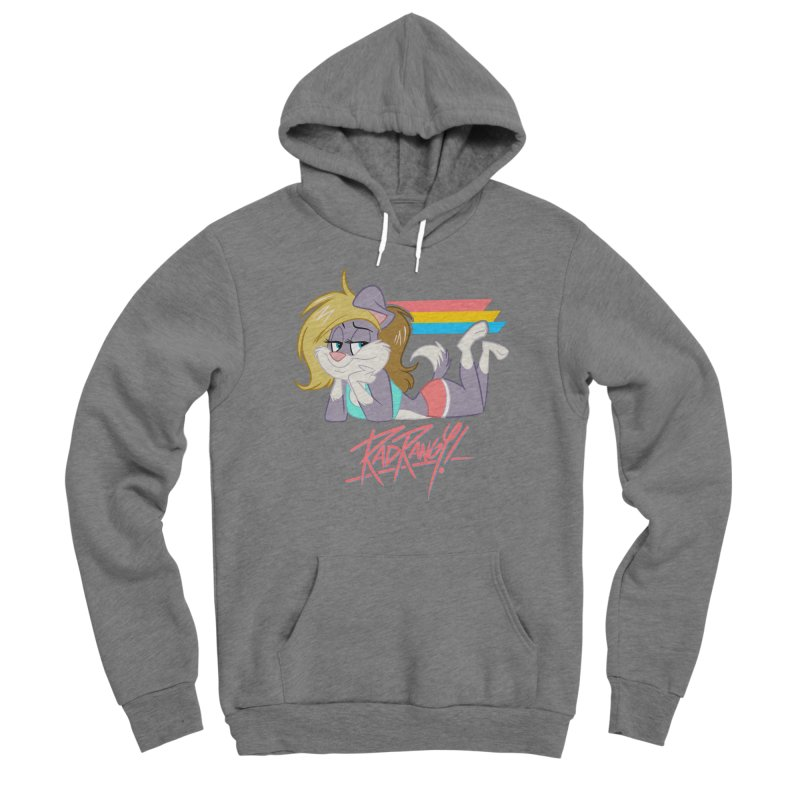RAD ROUGEE TOON Men's Pullover Hoody by Tripleta Studio Shop