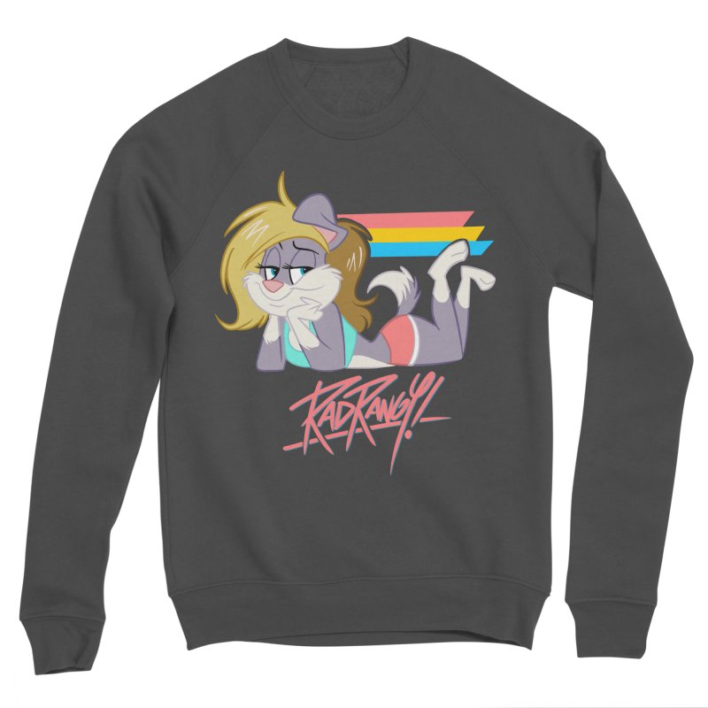 RAD ROUGEE TOON Women's Sweatshirt by Tripleta Studio Shop