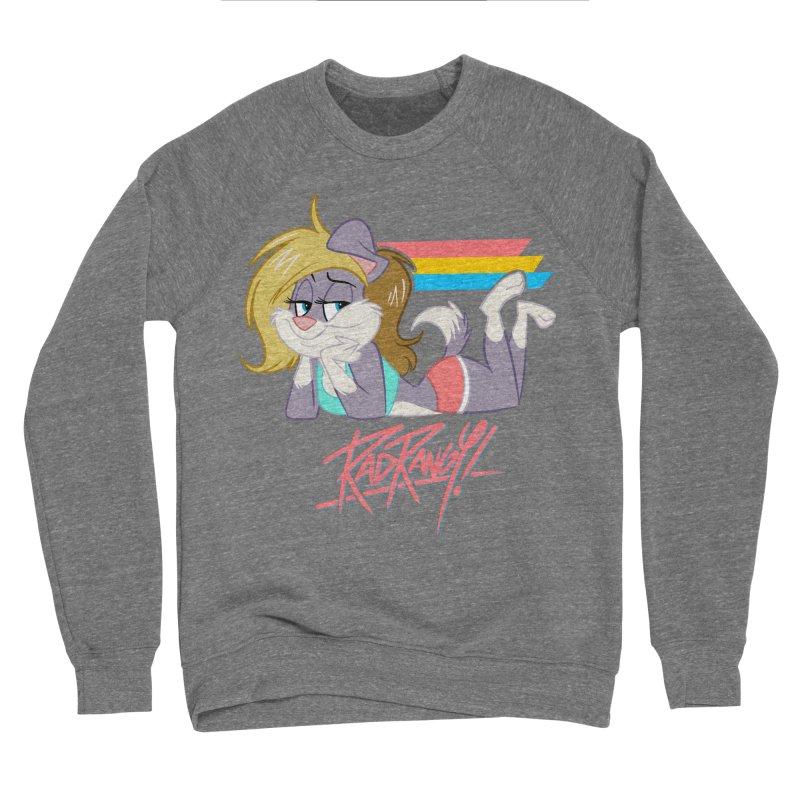 RAD ROUGEE TOON Men's Sponge Fleece Sweatshirt by Tripleta Studio Shop