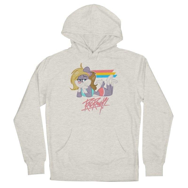 RAD ROUGEE TOON Women's Pullover Hoody by Tripleta Studio Shop