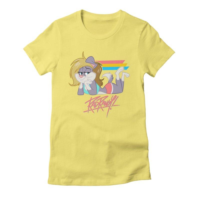 RAD ROUGEE TOON Women's T-Shirt by Tripleta Studio Shop