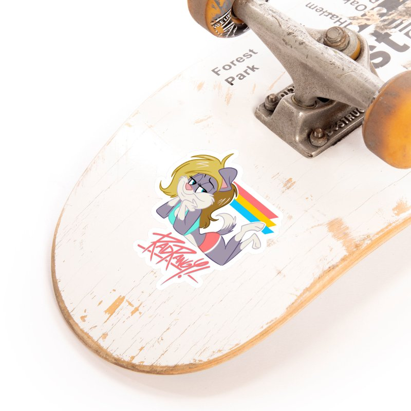 RAD ROUGEE TOON Accessories Sticker by Tripleta Studio Shop