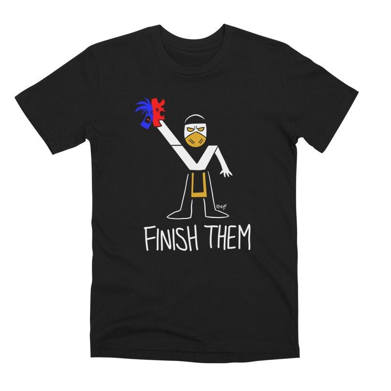 FLAWLESS VICTORY Men's T-Shirt by Tripleta Studio Shop