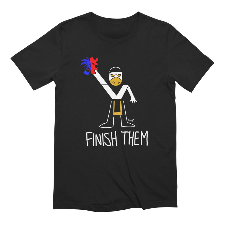 FLAWLESS VICTORY Men's Extra Soft T-Shirt by Tripleta Studio Shop
