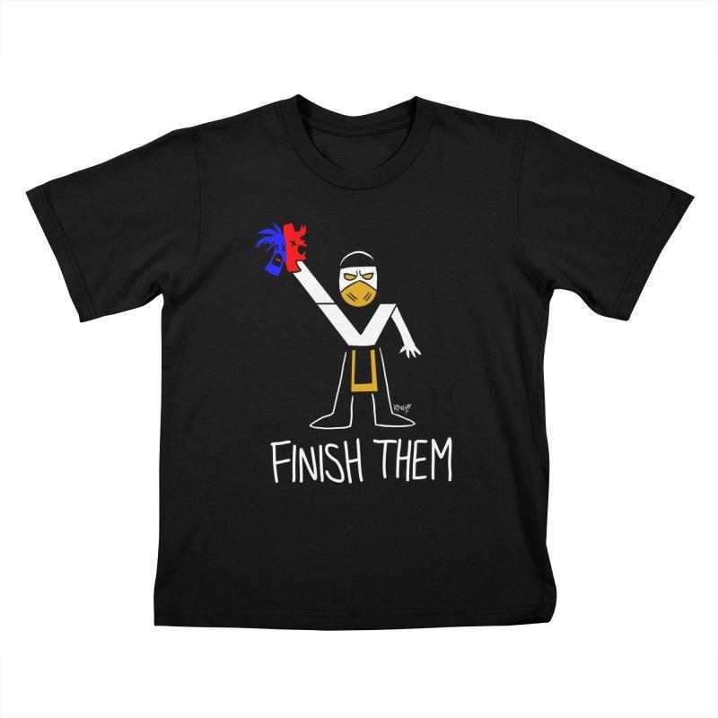 FLAWLESS VICTORY Kids T-Shirt by Tripleta Studio Shop