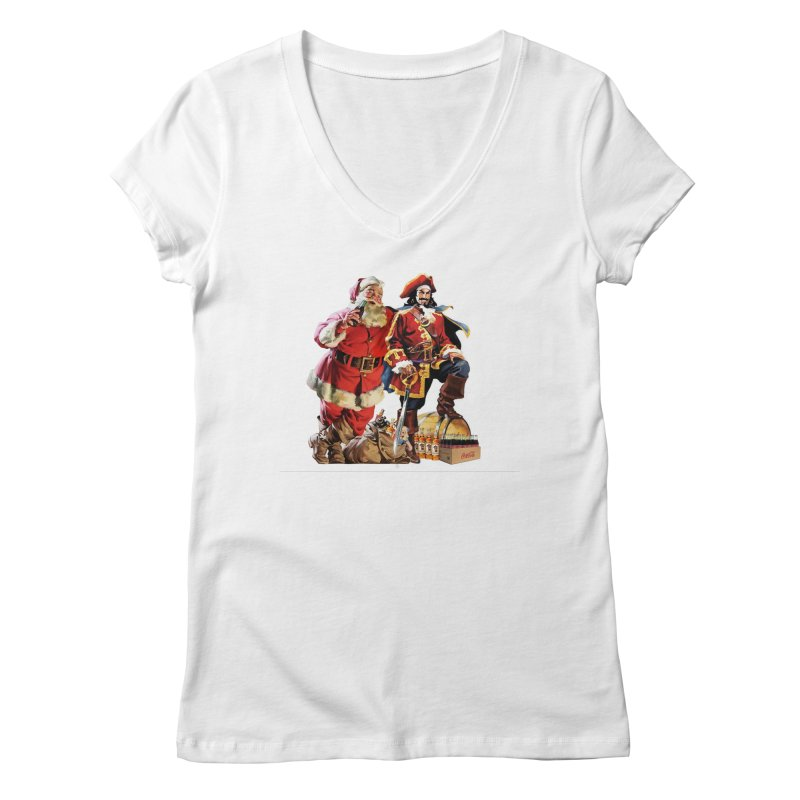 Rum & Coke Women's V-Neck by BIZ SHAW