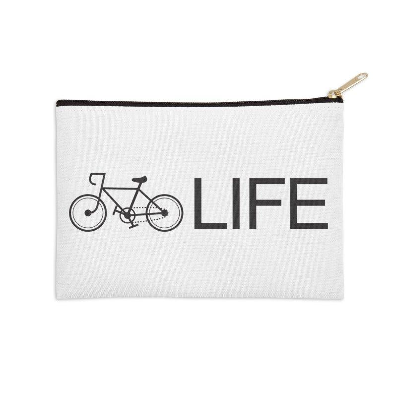 Bike Life Accessories Zip Pouch by BIZ SHAW