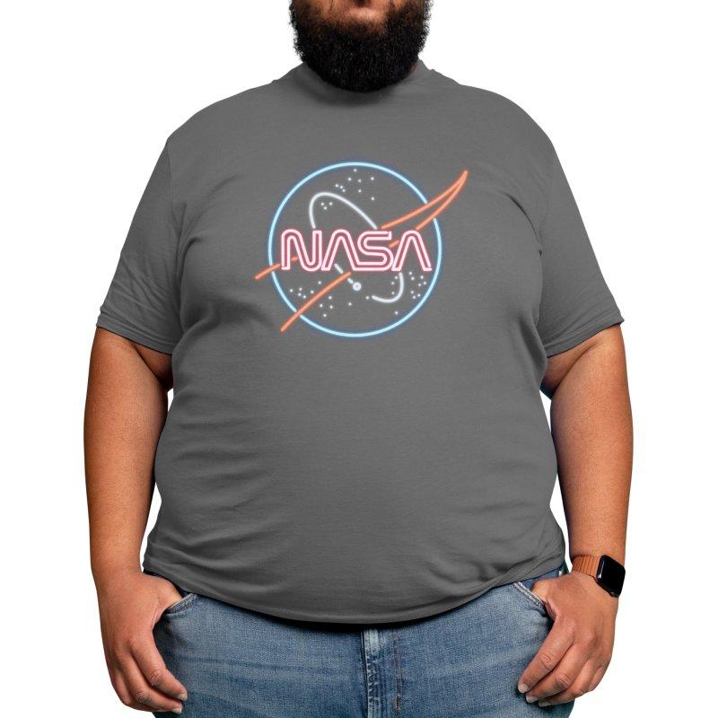 Neon NASA Men's T-Shirt by Deep Space Designs