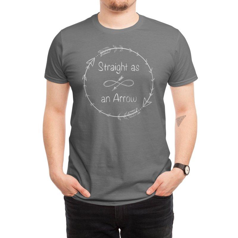 Straight as an Arrow Men's T-Shirt by Deep Space Designs