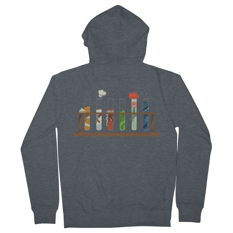 Muppet Science Men's Zip-Up Hoody by tristan's Artist Shop