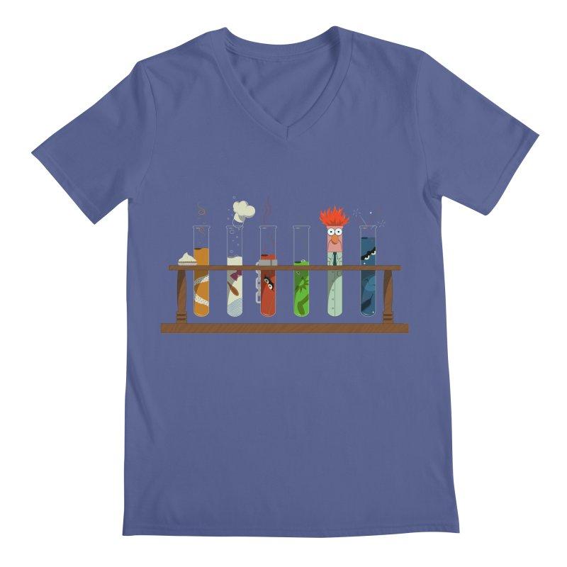 Muppet Science Men's V-Neck by tristan's Artist Shop