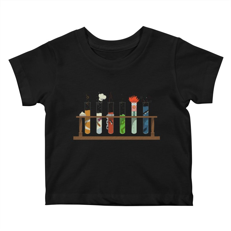 Muppet Science Kids Baby T-Shirt by Deep Space Designs