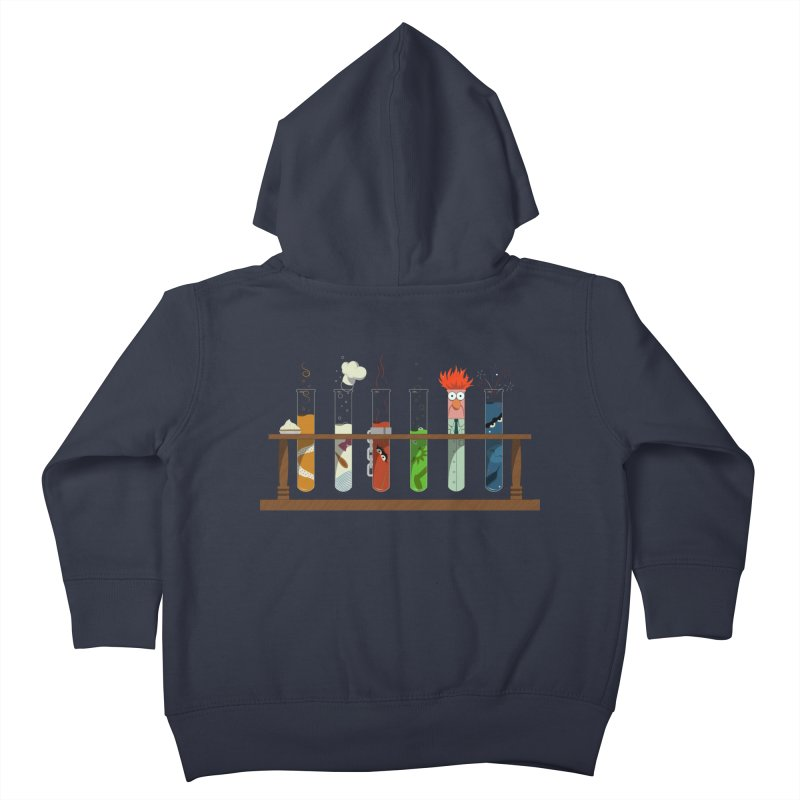 Muppet Science Kids Toddler Zip-Up Hoody by tristan's Artist Shop