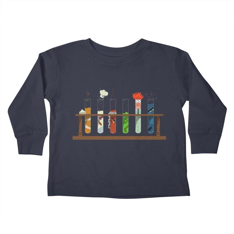 Muppet Science Kids Toddler Longsleeve T-Shirt by tristan's Artist Shop