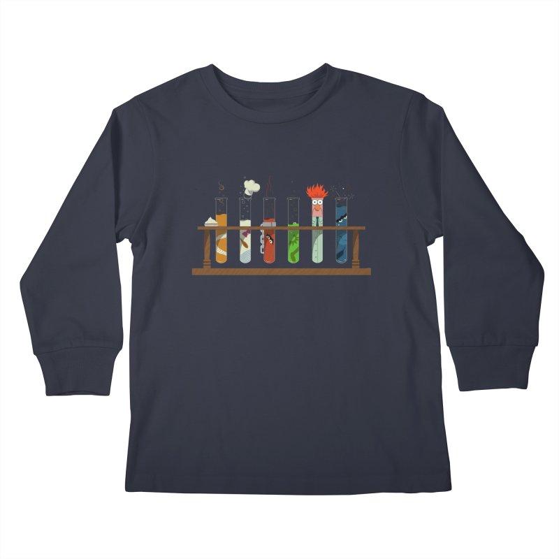 Muppet Science Kids Longsleeve T-Shirt by Deep Space Designs