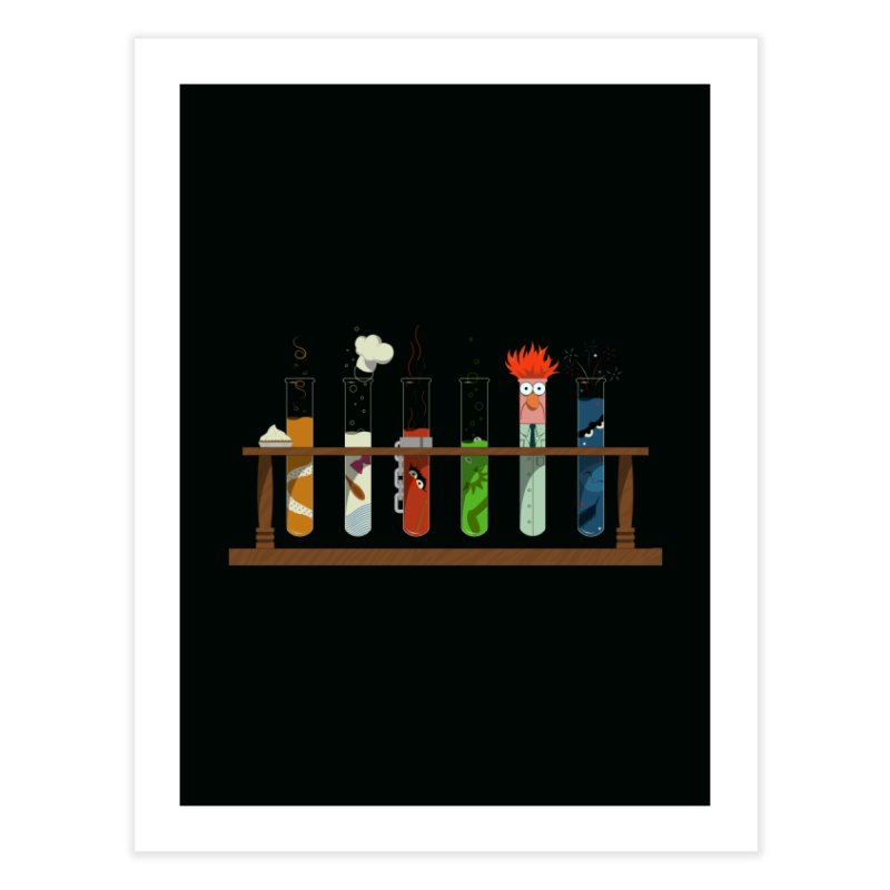 Muppet Science Home Fine Art Print by Deep Space Designs