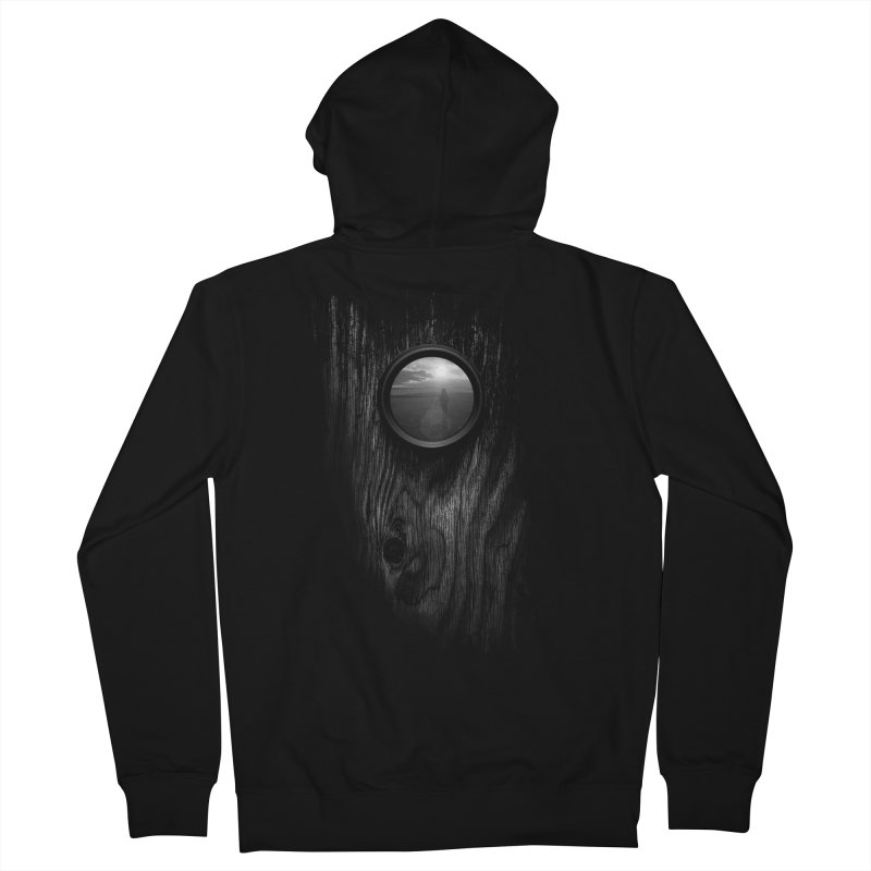 Come With Me Men's Zip-Up Hoody by tristan's Artist Shop
