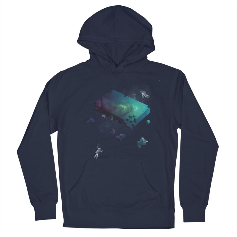 Constructing the Cosmos Women's Pullover Hoody by tristan's Artist Shop